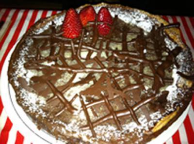 Tarta de chocolate de Kity