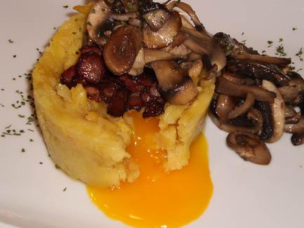Coulant de huevo y patata